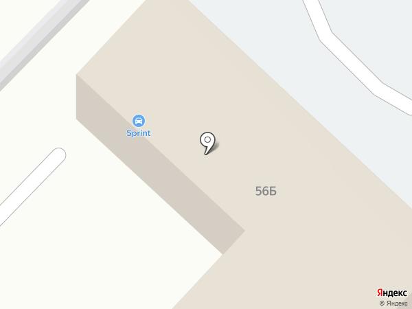 Веха-Регион на карте Саратова