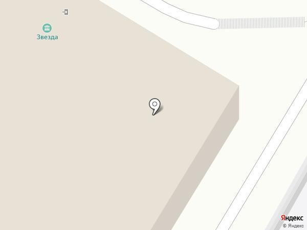 Звезда на карте Саратова