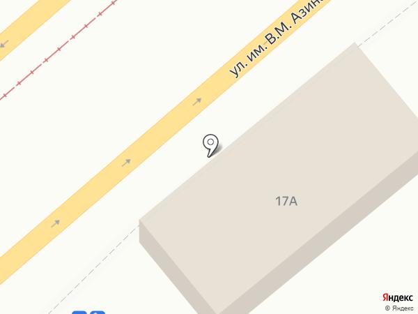 Булочка на карте Саратова