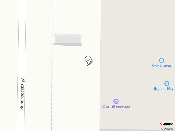 Южный-2015 на карте Саратова
