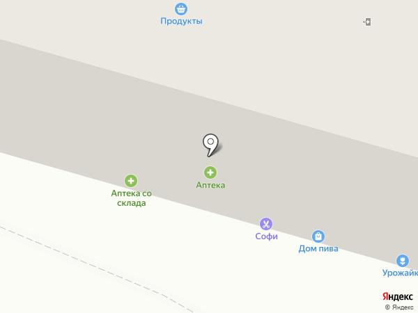 Магнит-Косметик на карте Саратова