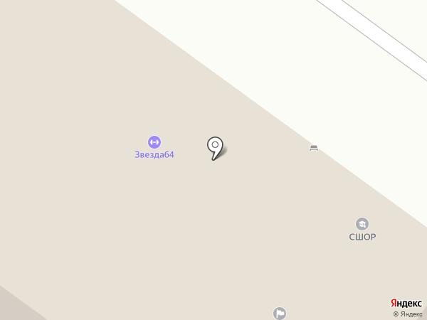 Ассоциация Бадминтона Саратовской области на карте Саратова