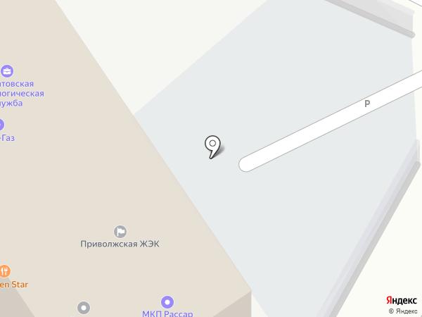 Водовозофф64 на карте Саратова