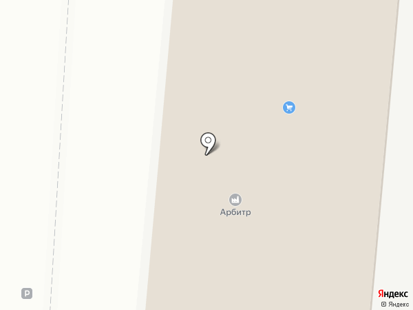 Арбитр на карте Саратова