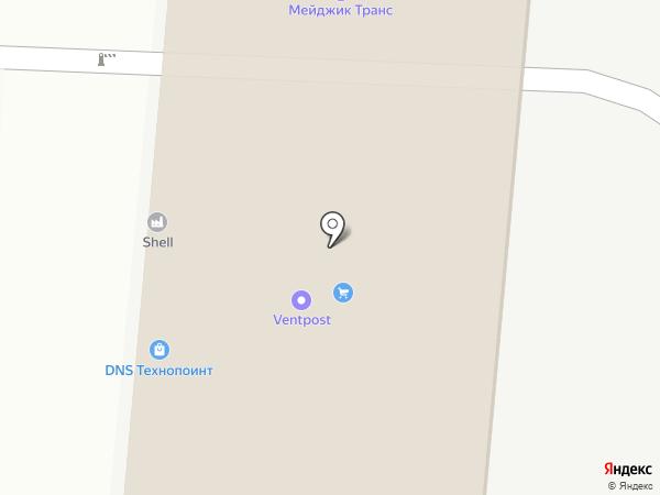 Мелдана на карте Саратова