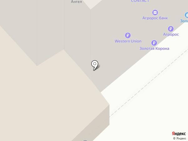 Агат на карте Саратова