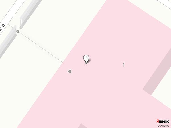 Городская поликлиника №4 на карте Саратова