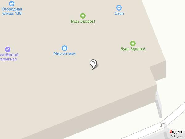Сан Саныч на карте Саратова