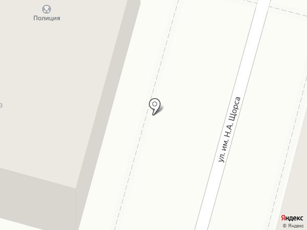 Участковый пункт полиции №38, Отдел полиции №4 на карте Саратова