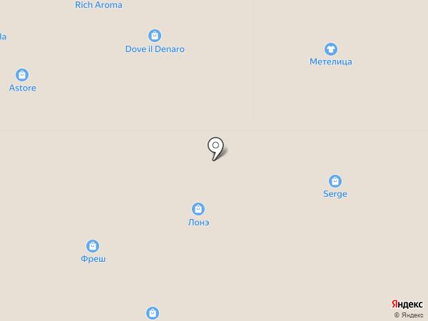 Лонэ на карте Саратова