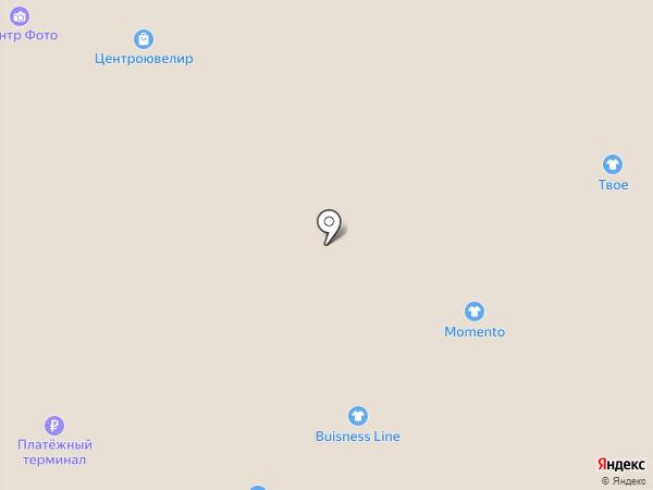 Центроювелир на карте Саратова