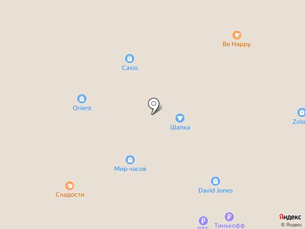 Casio на карте Саратова