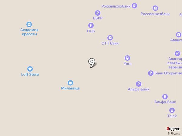 Россельхозбанк на карте Саратова