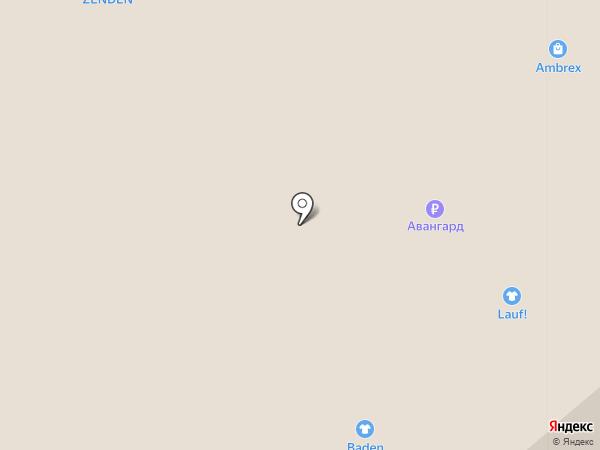 Zenden на карте Саратова