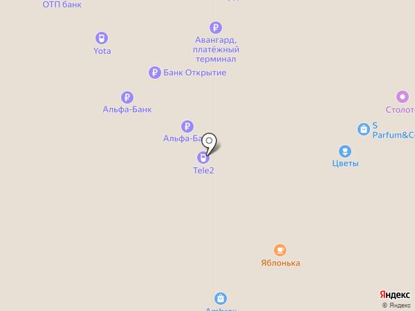 YOTA на карте Саратова