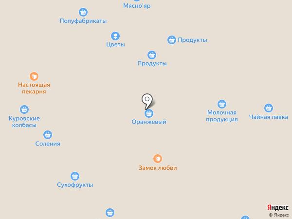 Магазин по продаже мяса птицы на карте Саратова