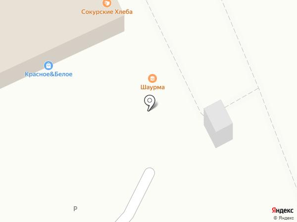 Фламинго на карте Саратова