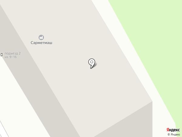 Ритм на карте Саратова