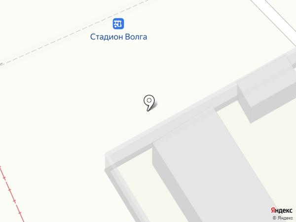 Продуктовый магазин на площади Орджоникидзе на карте Саратова