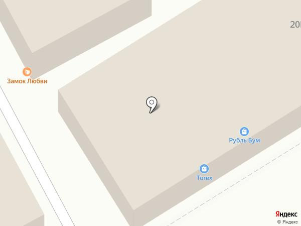 Минутка на карте Саратова