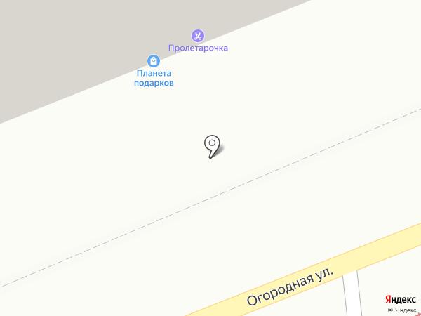 Планета подарков на карте Саратова