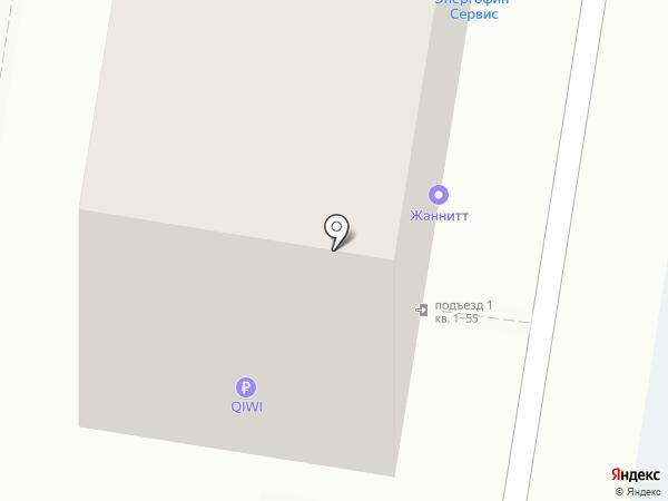 ЖАнниТТ на карте Саратова