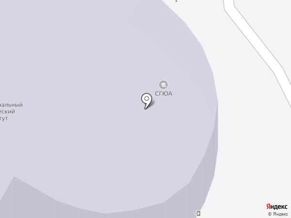 Межрегиональный юридический институт на карте Саратова