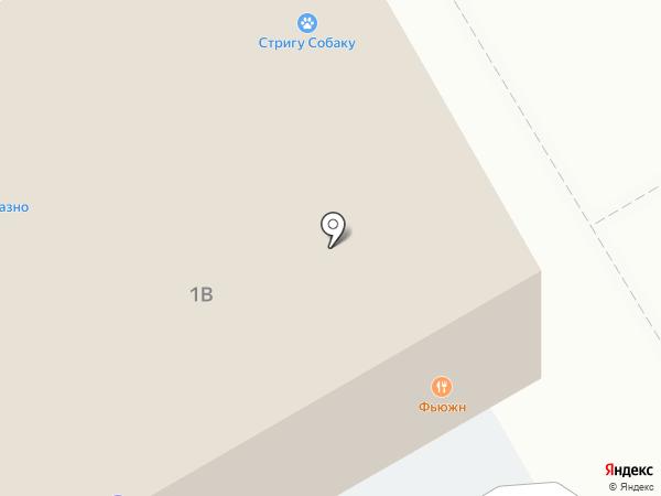 Бархат на карте Саратова