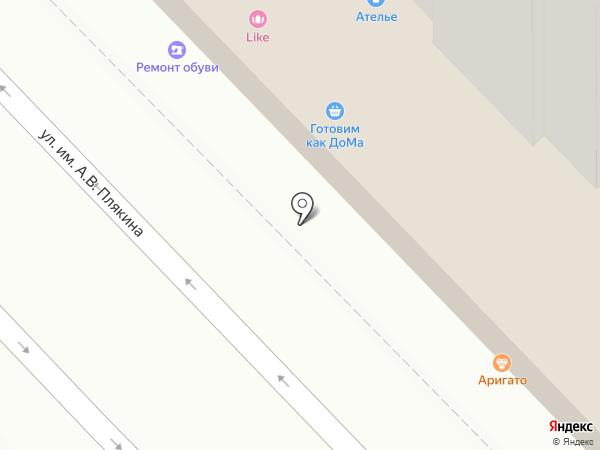 Наслаждение на карте Саратова
