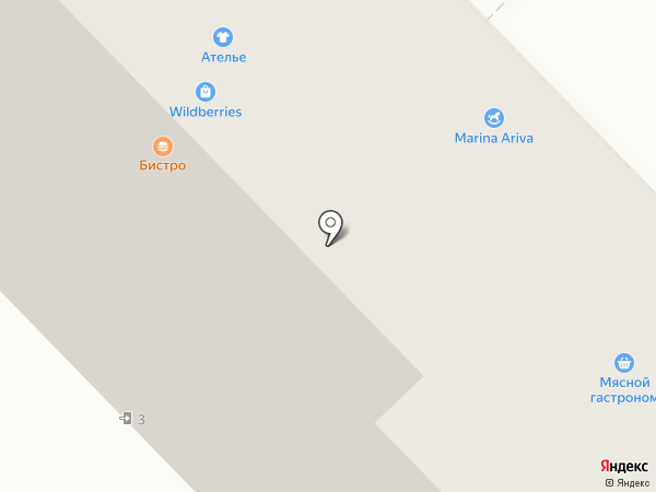 Капитошка на карте Саратова