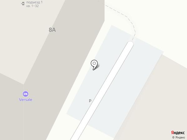 Лесстр на карте Саратова