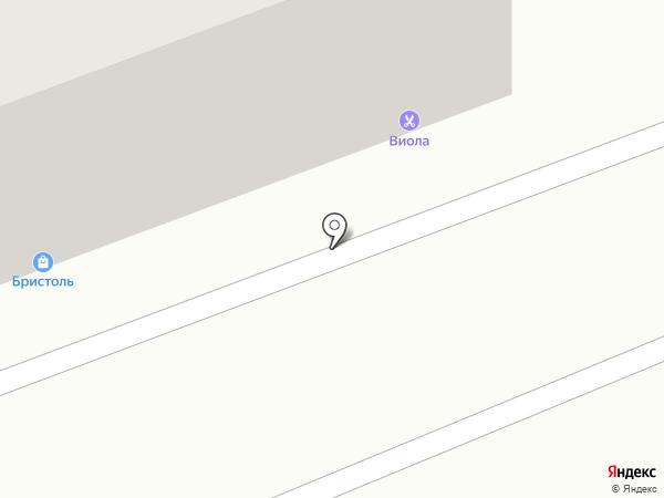 Виола на карте Саратова
