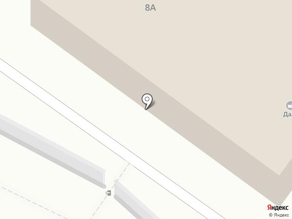 Даль, ЗАО на карте Саратова