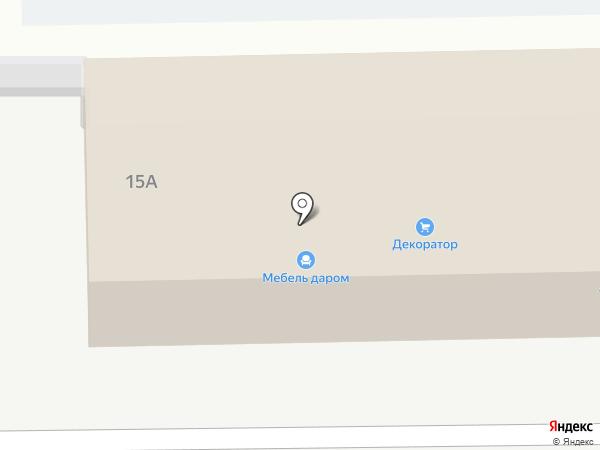 Кублей на карте Саратова