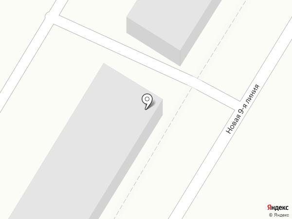 Вакуум на карте Саратова