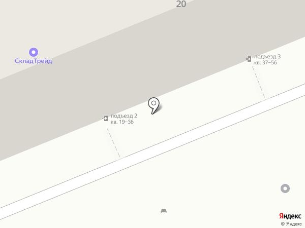 УАЗ-авто на карте Саратова