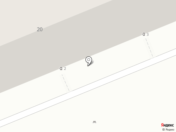 Складтрейд на карте Саратова