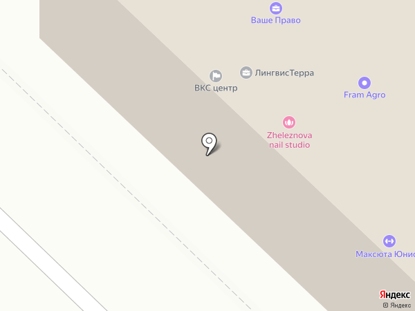 Экофлай на карте Саратова