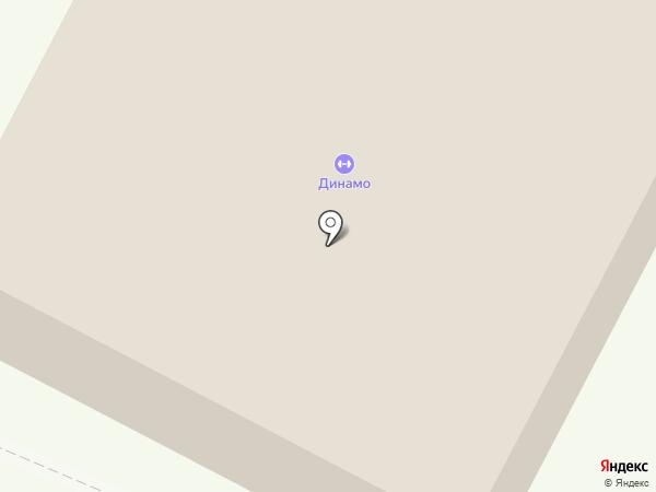 Лыжная база на карте Саратова