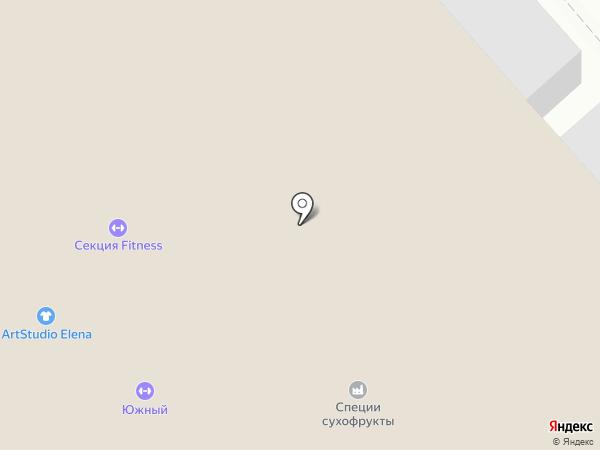 Молочный дворик на карте Саратова