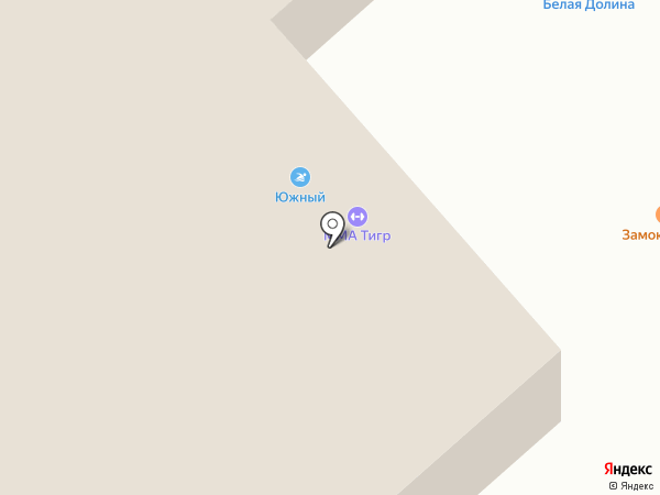 Южный на карте Саратова