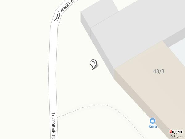 Шторм на карте Саратова