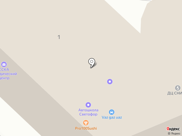 Бизнес-парк СНИИМ на карте Саратова