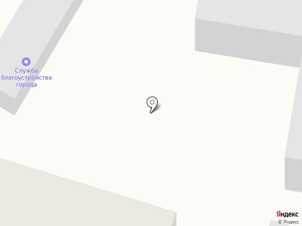 Служба благоустройства города, МБУ на карте Саратова