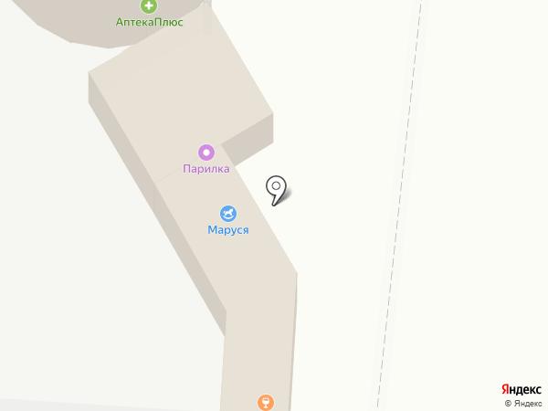 Маруся на карте Саратова