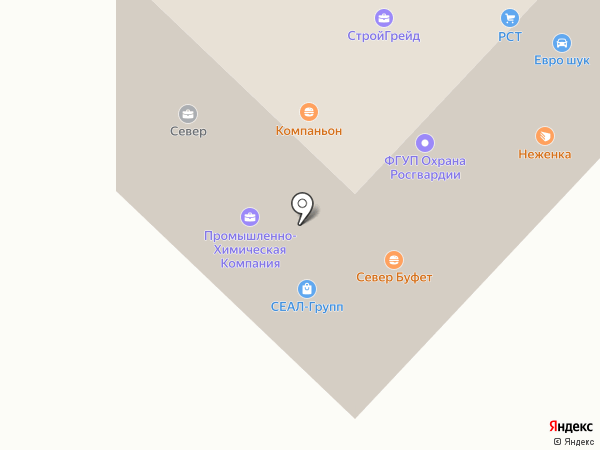 Голд Пак Юг на карте Саратова