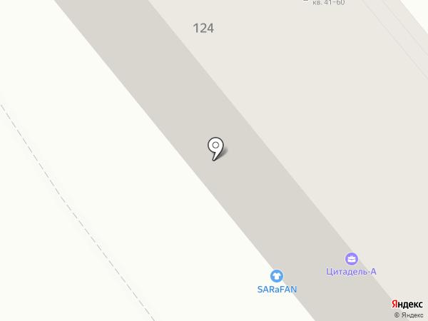 Магазин трикотажной одежды на карте Саратова