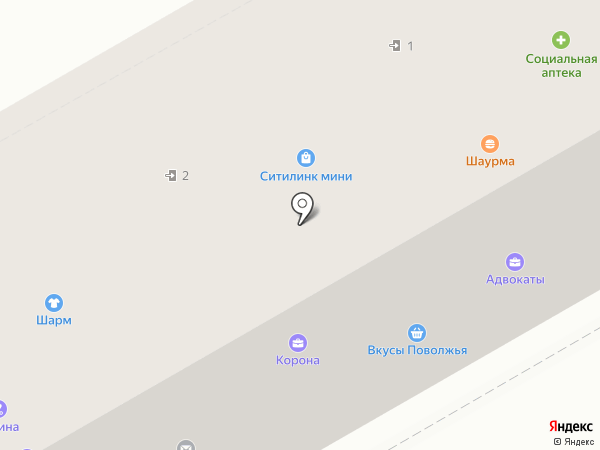 Белая линия на карте Саратова