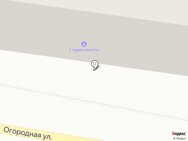 Рико на карте Саратова
