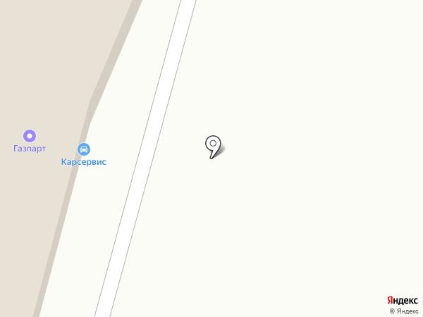 Gaspart на карте Саратова
